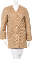Fendi Quilted Long Jacket