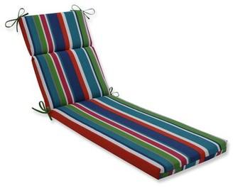 Bay Isle Home Tova Stripe Indoor/Outdoor Chaise Lounge Cushion