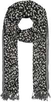 Ichi AMY Scarf feather grey