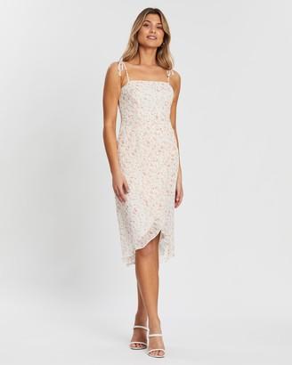 Atmos & Here Lilian Tie Maxi Dress