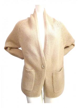 Nice Connection Beige Wool Knitwear for Women