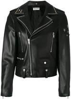 Saint Laurent studded collar jacket