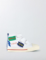Boden Canvas High Tops