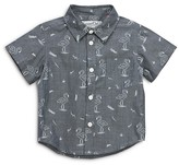 Sovereign Code Boys' Flamingo Print Button Down Shirt - Baby
