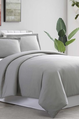 Modern Threads Full/Queen Ultra Plush Duvet Set - Gray