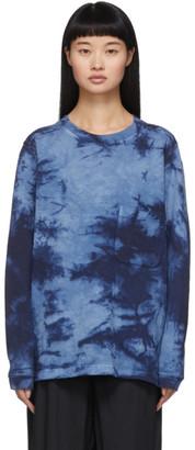 Blue Blue Japan Blue Tie-Dye Sweatshirt