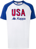 Kappa printed raglan T-shirt - men - Cotton - S