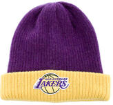 The Elder Statesman Los Angeles Lakers Watchman's Cap w/ Tags