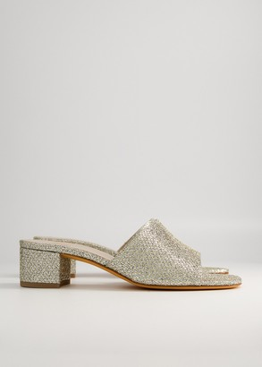 Maryam Nassir Zadeh Women's Agatha Slide in 324 Trophy Shoes, Size 36 | Leather