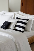 Lacoste Brushed Striped Twill Pillow - 18 x 18 - Moonless Night