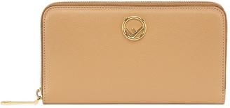 Fendi F zip around wallet