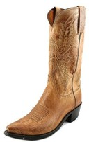 Lucchese Crayton Men Square Toe Leather Western Boot.