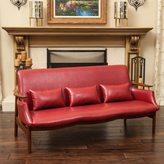 Christopher Knight Home Bridgeport Wood Frame Sofa