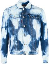 DSQUARED2 heavily bleached denim jacket - men - Cotton - 48