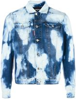 DSQUARED2 heavily bleached denim jacket