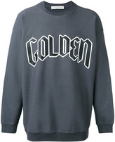 Golden Goose Deluxe Brand logo front sweatshirt - men - Cotton - S
