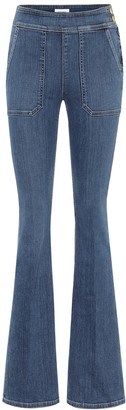 Frame Le Francoise high-rise flared jeans
