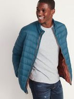 Old Navy Water-Resistant Packable Quilted Jacket for Men