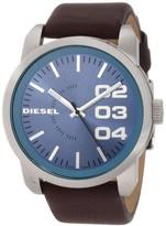 Diesel Double Down DZ1512 Brown/Blue Analog Quartz Men's Watch