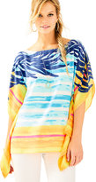 Lilly Pulitzer Rowan Silk Caftan Top