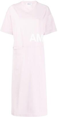 Ambush logo print T-shirt dress