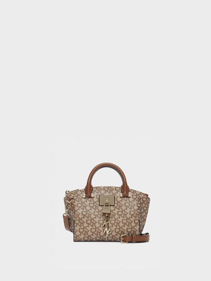 DKNY Elissa Town & Country Logo Mini Satchel