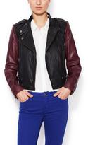 Vikki Leather Motorcycle Jacket