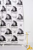 Urban Outfitters Heavy Slime Exclusive Grim Reaper Shower Curtain