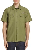 Obey Mission Utility Regular Fit Button-Down Shirt