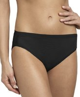 OnGossamer Women's Gossamer Mesh Hi-Cut Brief Panty