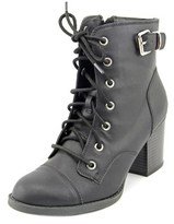Rampage Justina Round Toe Synthetic Boot.