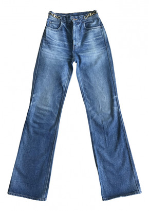 Celine Blue Cotton Jeans