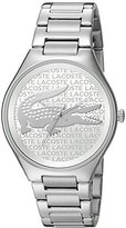 Lacoste Women's 'VALENCIA' Quartz Stainless Steel Casual Watch (Model: 2000931)