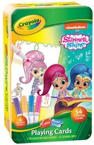 Crayola Shimmer & Shine Color Your Own Playing Cards Set by