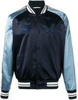 Valentino embroidered bomber jacket - men - Cotton/Polyamide/Polyester/Viscose - 50