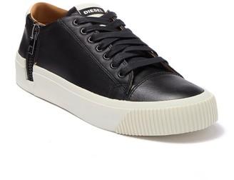 Diesel Voyage Zip Leather Sneaker