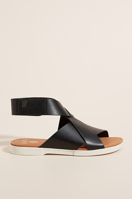 Franco Sarto Sarto by Akasha Sandals By in Black Size 8
