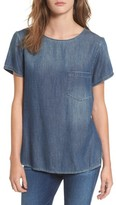 AG Jeans Women's Megan Denim Pocket Tee
