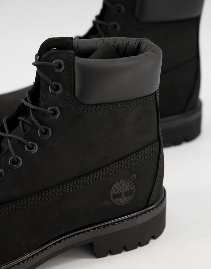 Thumbnail for your product : Timberland 6 inch Premium boots in black