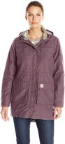 Carhartt Women's Fryeburg Insulated Cotton Coat