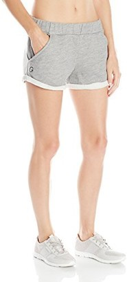 good hYOUman Women's Kenzie Heather Fleece Short X-Small