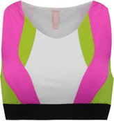 NO KA 'OI No Ka'Oi Holo color-block stretch-jersey sports bra