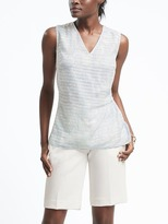 Banana Republic Easy Care Draped Top