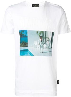 Philipp Plein Scarface print T-shirt