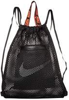 Nike Advance Gym Sack (Black/Black/White) Backpack Bags