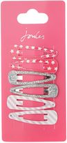 Joules Girls Spot Star Stripe 3 Pack Clips