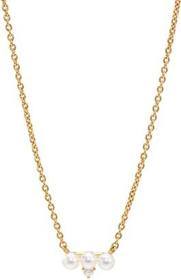 AJOA Imitation Pearl & Cubic Zirconia Necklace