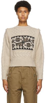 Etoile Isabel Marant Beige Rioja Sweater