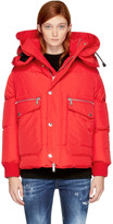 DSQUARED2 Red Down Jacket