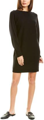 Vince Dolman Wool & Cashmere-Blend Shift Dress